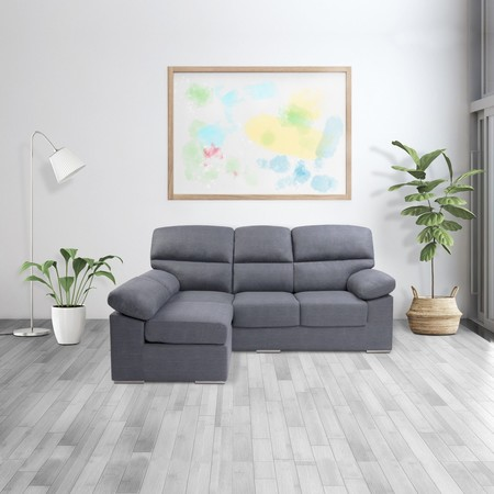 Por 299 euros puedes ver el fútbol o las series cómodamente con este sofá chaise longue Mezquita