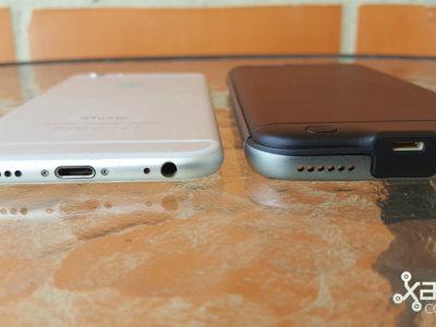 Power Case de Innoants es una carcasa para darle protección y batería extra a tu iPhone 6