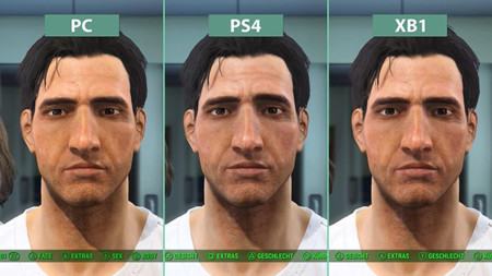 Comparativas gráficas de Fallout 4, PC vs PS4 y Xbox One