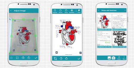 Notebloc, escanea documentos desde el móvil con este sencillo y preciso digitalizador