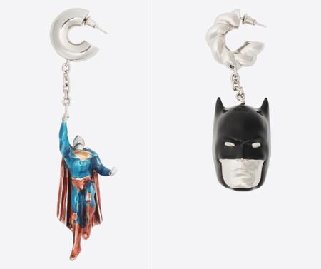 Balenciaga Pendientes Superheroes