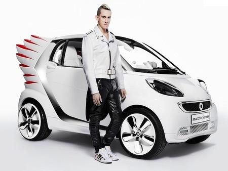 Smart forjeremy por Jeremy Scott, un coche con alas