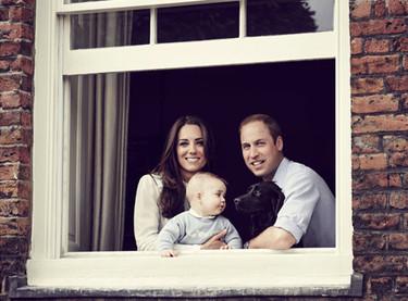 ¡Qué mayor está ya el Príncipe George!