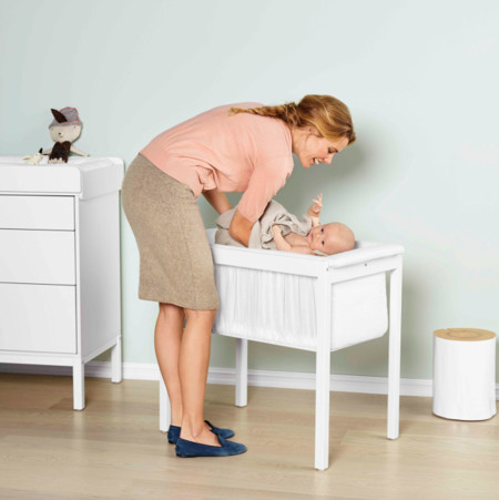 Stokke Home Cradle 2836 White B