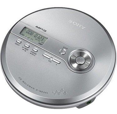 Sony D-NE241, reproductor de CDs portátil
