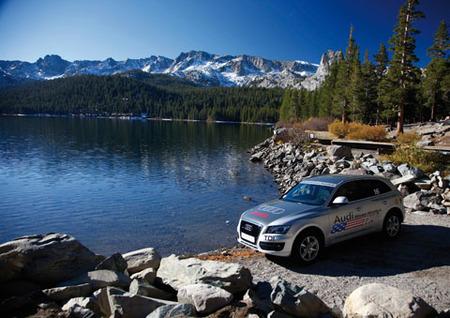 Finaliza el cruce de EEUU con varios Audi TDI con excelentes consumos