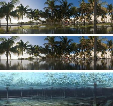 Cómo lucirían ciertos destinos turísticos si se inundasen