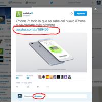 El 19 de septiembre Twitter empezará a excluir menciones e imágenes del límite de 140 caracteres