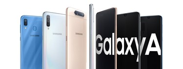 Galaxy A10, A20, A30, A50, A70 y A80: la gama media de Samsung con notch y cámaras giratorias, estos son sus precios en México