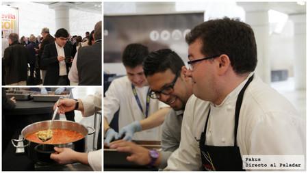 que comen los chefs y los asistentes a madrid fusión