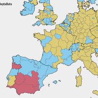 Más propietarios, menos gasto social y menos inmigración: España frente a Europa en 14 mapas