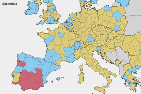 Más propietarios, menos gasto social y menos inmigración: así es España frente a Europa en 14 mapas
