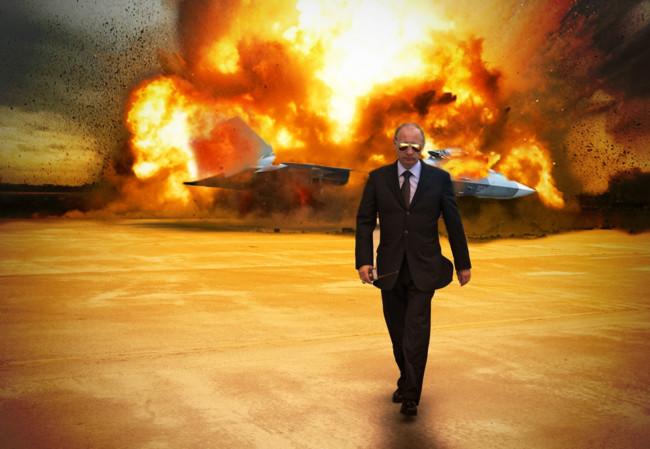 Putin Explosion