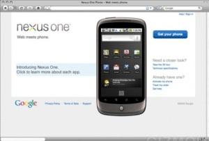 Nexus One podría costar en España 470 euros libre