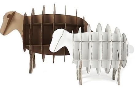 estanteras con forma de animales muebles cartn
