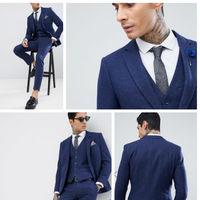Serás el invitado más elegante gracias a este traje Harry Brown con 60% de descuento y envío gratis en Asos