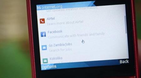 Facebook e Internet.org anuncian una aplicación para tener Internet gratis en Zambia