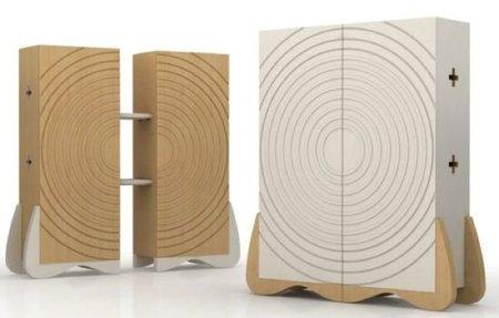 One+One, un armario extensible en dos partes
