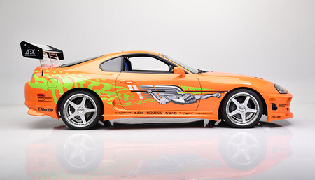 El Toyota Supra de Paul Walker en 'The Fast and the Furious', a subasta