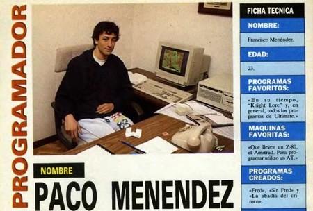 Paco Menéndez
