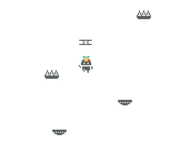 """Nuevo huevo de pascua en Google Play Juegos: así puedes jugar a un """"Doodle Jump"""" protagonizado por Android"""