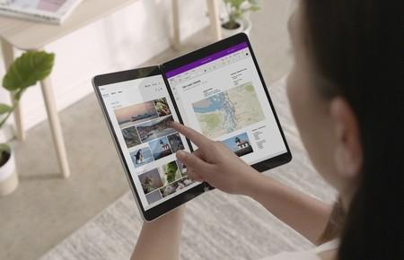 Microsoft da a conocer más detalles del software de los Surface Neo y Duo mostrando cómo funcionarán las apps en la doble pantalla