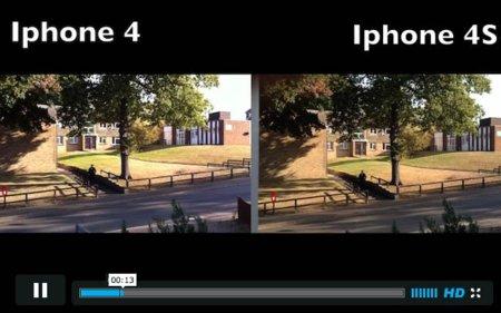 Los vídeos Full HD de la cámara del iPhone 4S se enfrentan a los del iPhone 4