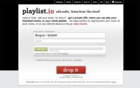 Playlist.io, sube y crea tu lista de reproducción musical online