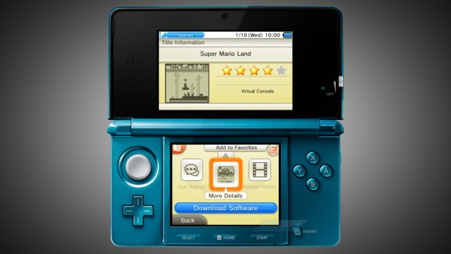 Nintendo Eshop 3ds