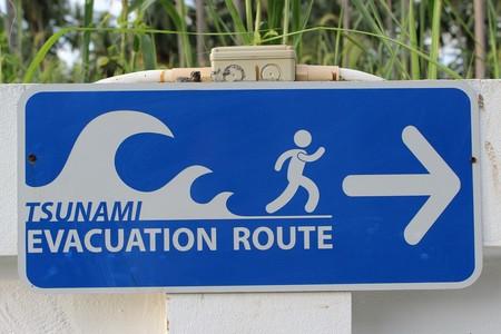 Señal tsunami