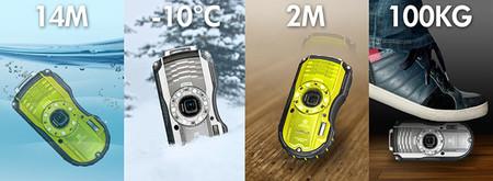 RICOH WG-4, RICOH WG4 - GPS y RICOH WG-20 nuevas compactas todoterreno de Ricoh