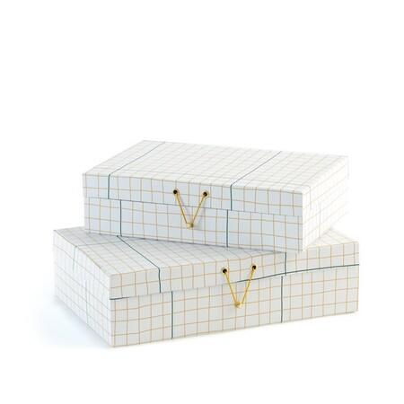 Conjunto de dos cajas