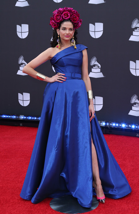 Natalia Jimenez grammys latinos 2019 red carpet