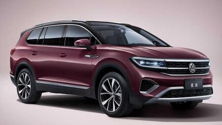 Volkswagen Talagon 2021, el SUV de siete pasajeros exclusivo de China es en dimensiones muy similiar a una Escalade