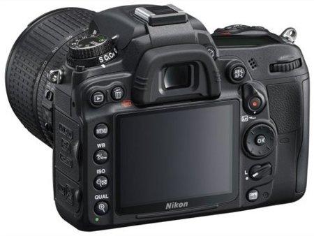 Nikon D7000 con su pantalla