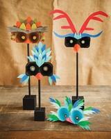 Bonitas máscaras de Carnaval para hacer con los peques
