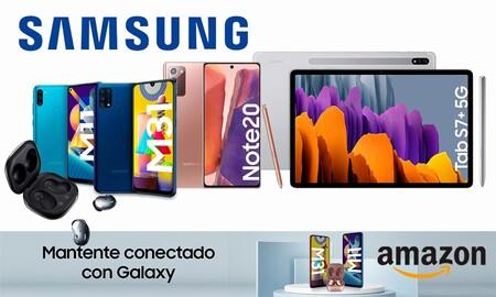 Samsung Connected Days en Amazon: smartphones, tabletas y auriculares de la marca coreana a los mejores precios
