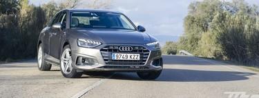 Probamos el Audi A4: una berlina minimalista que tira de microhibridación para ganarse el distintivo ECO