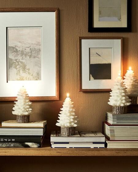 velas arbol de Navidad