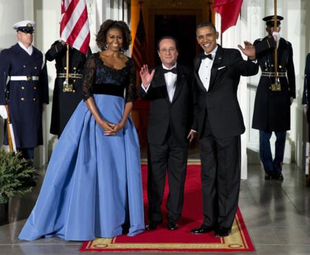 Carolina Herrera Michelle Obama look