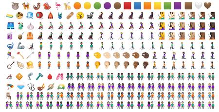 Emojis Android Q