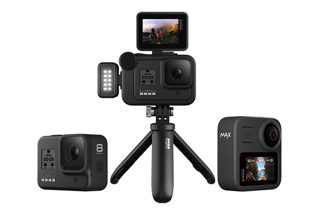 GoPro Hero 8 y GoPro Max: Así son los nuevos modelos de la popular cámara  de acción