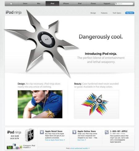 iPod ninja