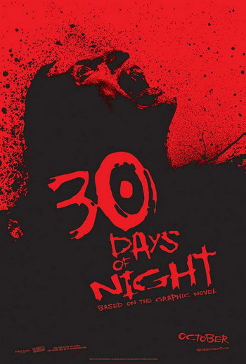 Póster de '30 Days of Night', vampiros de la mano de David Slade
