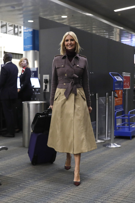 ivanka trump trench