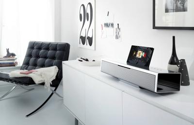 Equipo de sonido minimalista Loewe Soundvision