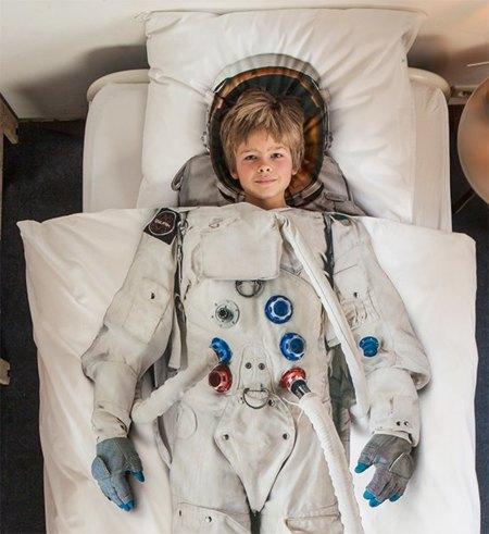Edredón de astronauta