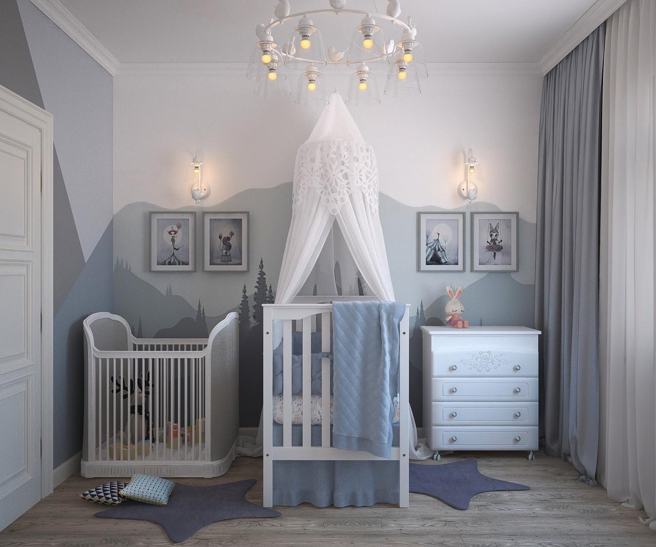 11 Tendencias De Decoracion En Habitaciones De Bebes Que Te Enamoraran