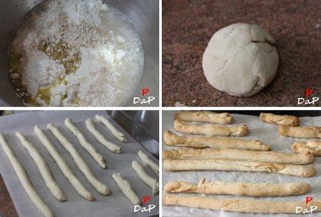 Pasos para hacer colines de pan