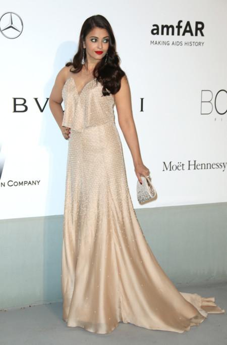 Aishwarya Rai Bachchan amfar Cannes 2014